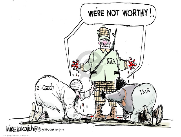 Cartoonist Mike Luckovich  Mike Luckovich's Editorial Cartoons 2017-11-08 semi