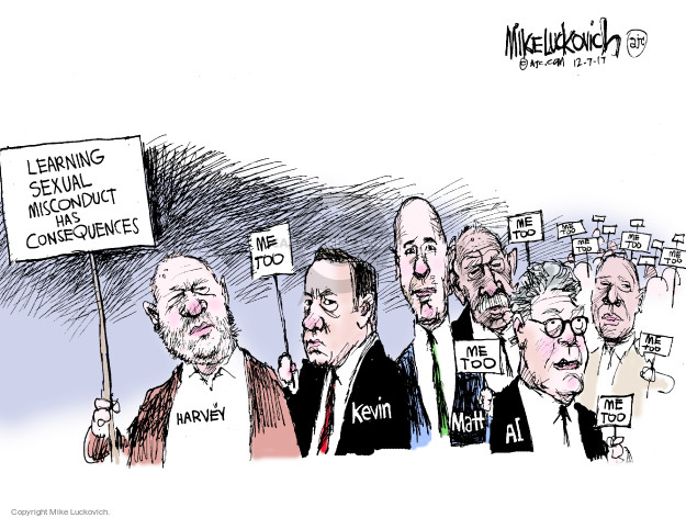 Mike Luckovich  Mike Luckovich's Editorial Cartoons 2017-12-07 John