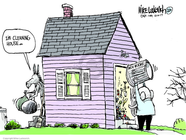 Mike Luckovich  Mike Luckovich's Editorial Cartoons 2017-12-10 house