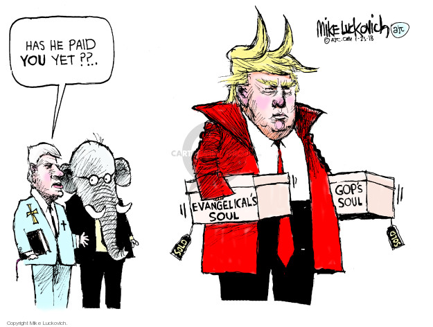 Mike Luckovich  Mike Luckovich's Editorial Cartoons 2018-01-25 soul