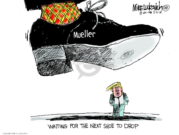 Cartoonist Mike Luckovich  Mike Luckovich's Editorial Cartoons 2018-02-04 counsel