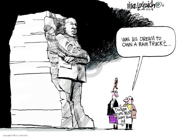 Cartoonist Mike Luckovich  Mike Luckovich's Editorial Cartoons 2018-02-06 junior