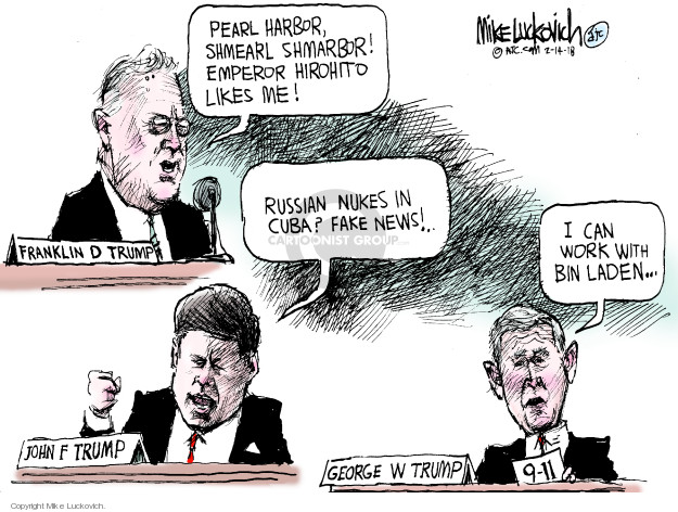 Mike Luckovich  Mike Luckovich's Editorial Cartoons 2018-02-14 World History