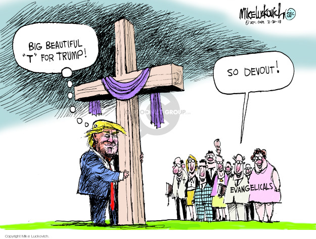Mike Luckovich  Mike Luckovich's Editorial Cartoons 2018-03-30 Christian