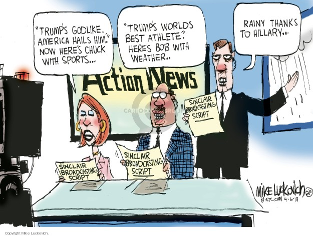 Mike Luckovich  Mike Luckovich's Editorial Cartoons 2018-04-06 journalism