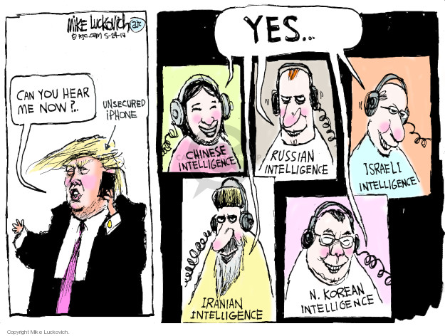 Mike Luckovich  Mike Luckovich's Editorial Cartoons 2018-05-24 president