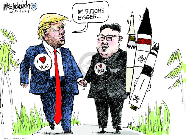 Mike Luckovich  Mike Luckovich's Editorial Cartoons 2018-06-13 president