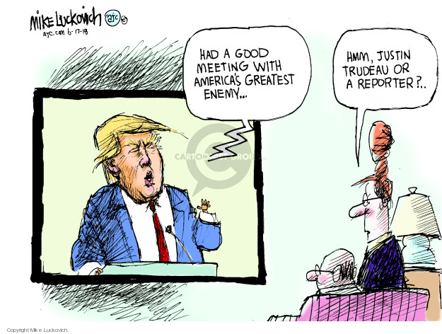 Mike Luckovich  Mike Luckovich's Editorial Cartoons 2018-06-17 president