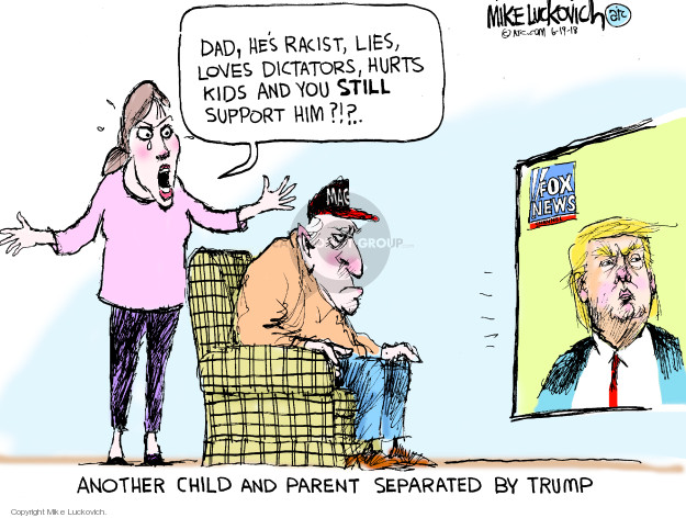 Cartoonist Mike Luckovich  Mike Luckovich's Editorial Cartoons 2018-06-19 Presidency