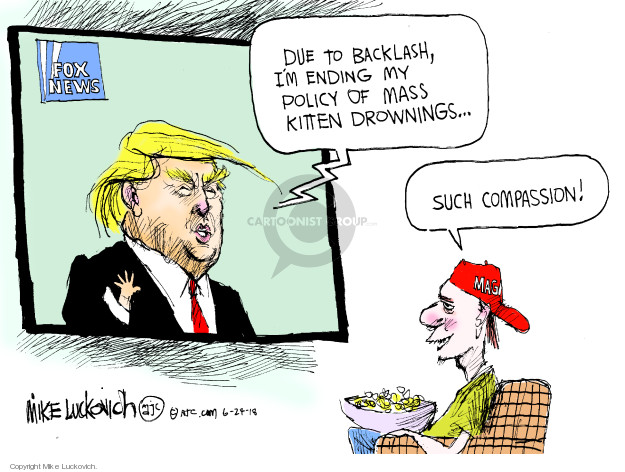 Mike Luckovich  Mike Luckovich's Editorial Cartoons 2018-06-24 president