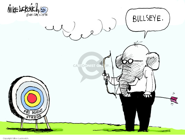 Mike Luckovich  Mike Luckovich's Editorial Cartoons 2018-07-13 republican politician