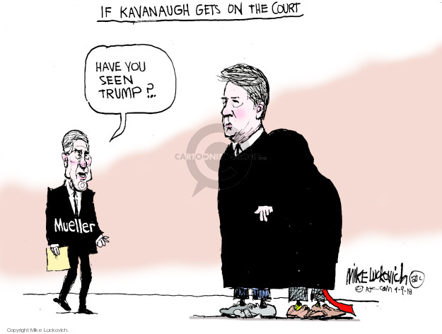 Mike Luckovich  Mike Luckovich's Editorial Cartoons 2018-09-09 court