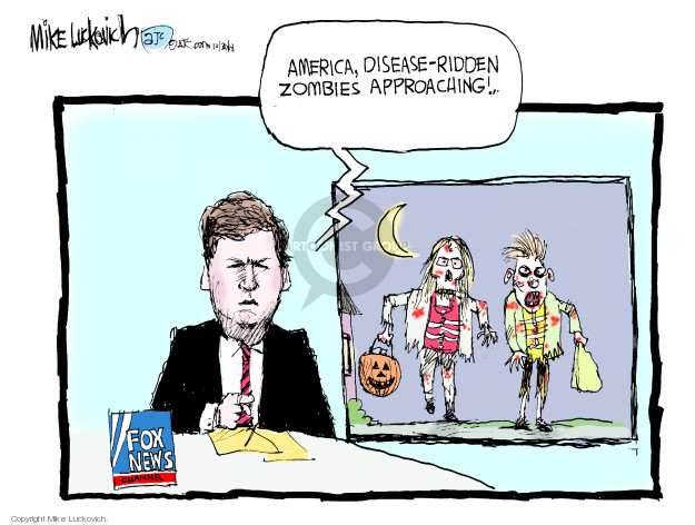 Cartoonist Mike Luckovich  Mike Luckovich's Editorial Cartoons 2018-10-30 news media