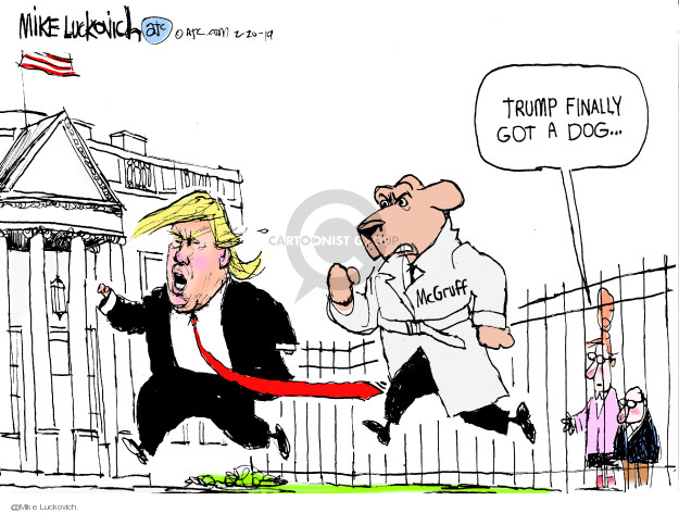 Cartoonist Mike Luckovich  Mike Luckovich's Editorial Cartoons 2019-02-20 Presidency