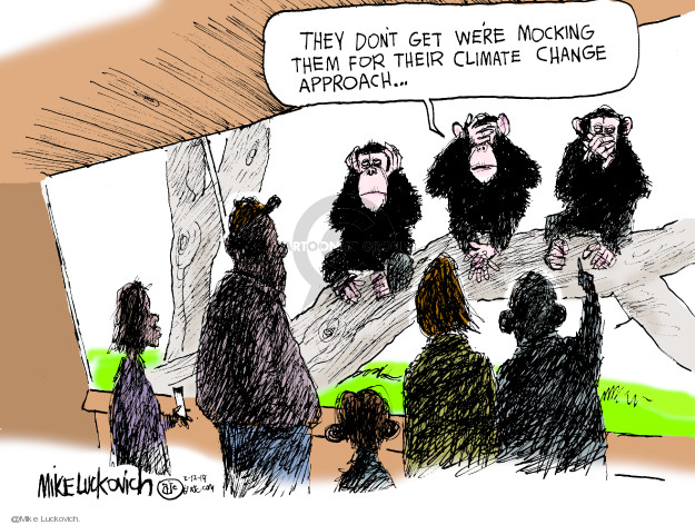 Mike Luckovich  Mike Luckovich's Editorial Cartoons 2019-03-12 human
