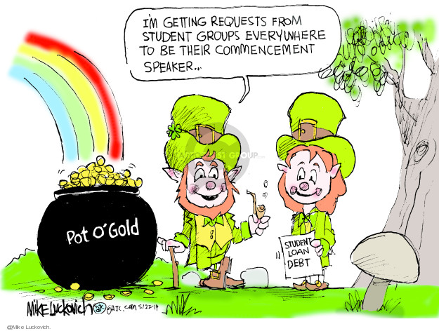 Mike Luckovich  Mike Luckovich's Editorial Cartoons 2019-05-22 their