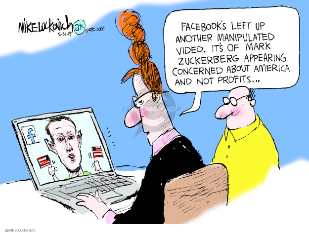 Mike Luckovich  Mike Luckovich's Editorial Cartoons 2019-05-31 media