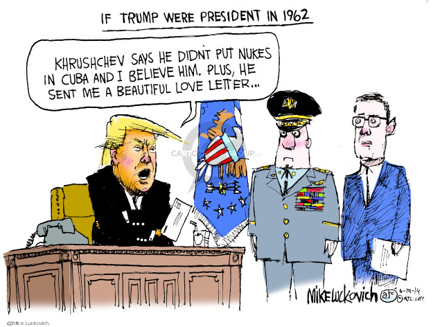 Cartoonist Mike Luckovich  Mike Luckovich's Editorial Cartoons 2019-06-19 Russia