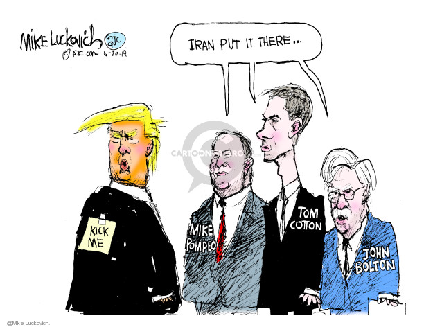 Mike Luckovich  Mike Luckovich's Editorial Cartoons 2019-06-20 tanker