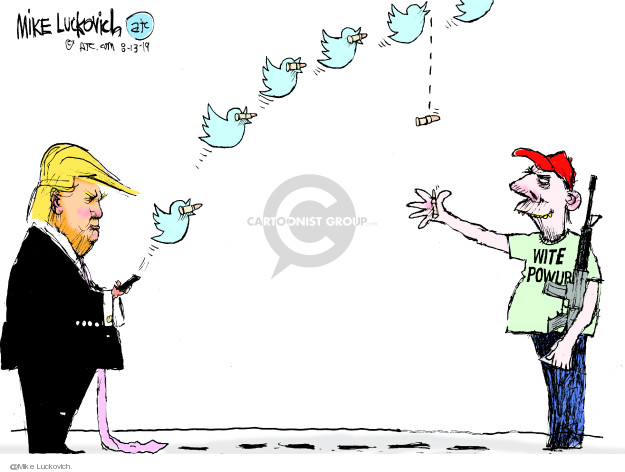Mike Luckovich  Mike Luckovich's Editorial Cartoons 2019-08-13 power