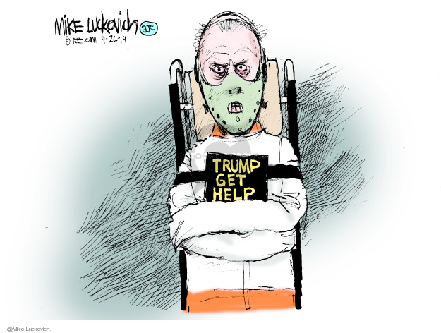 Mike Luckovich  Mike Luckovich's Editorial Cartoons 2019-09-26 Trump Impeachment