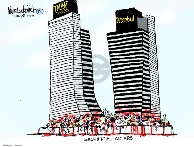 Mike Luckovich  Mike Luckovich's Editorial Cartoons 2019-10-10 armed forces