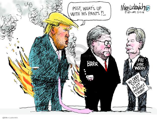Mike Luckovich  Mike Luckovich's Editorial Cartoons 2019-12-11 investigation