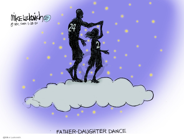 Mike Luckovich  Mike Luckovich's Editorial Cartoons 2020-01-28 basketball