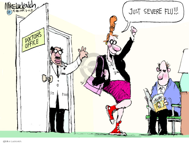 Mike Luckovich  Mike Luckovich's Editorial Cartoons 2020-03-11 coronavirus