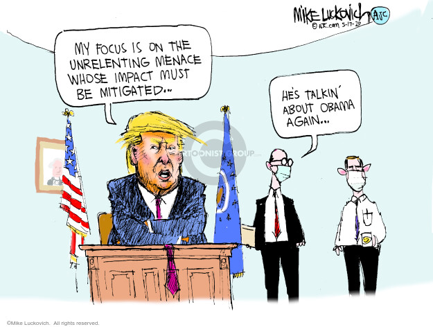 Mike Luckovich  Mike Luckovich's Editorial Cartoons 2020-05-17 editorial