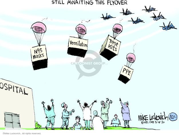 Mike Luckovich  Mike Luckovich's Editorial Cartoons 2020-05-19 politics