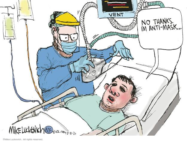 Mike Luckovich  Mike Luckovich's Editorial Cartoons 2020-05-31 coronavirus
