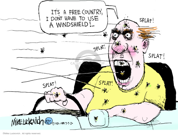 Mike Luckovich  Mike Luckovich's Editorial Cartoons 2020-07-07 disease