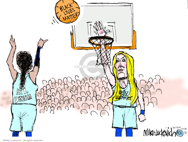 Mike Luckovich  Mike Luckovich's Editorial Cartoons 2020-07-10 sport