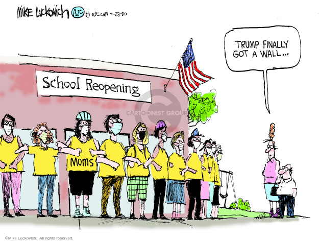 Mike Luckovich  Mike Luckovich's Editorial Cartoons 2020-07-28 disease