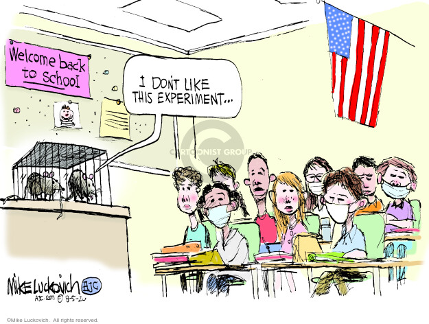 Mike Luckovich  Mike Luckovich's Editorial Cartoons 2020-08-05 kid