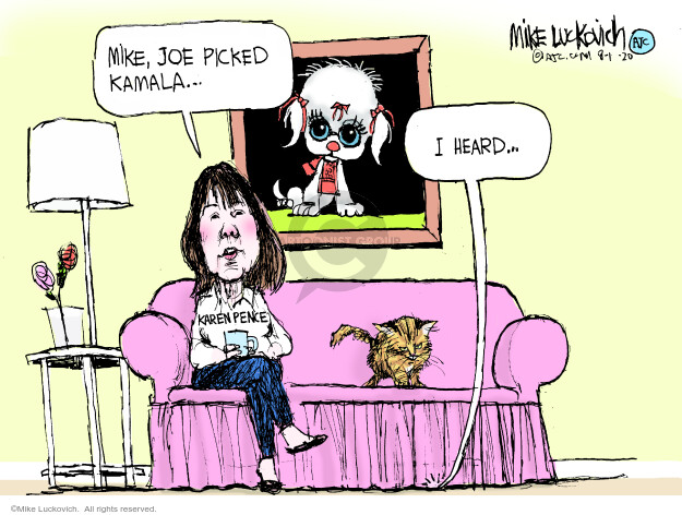 Mike Luckovich  Mike Luckovich's Editorial Cartoons 2020-08-14 2020 Election Joe Biden