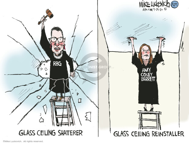 Mike Luckovich  Mike Luckovich's Editorial Cartoons 2020-09-29 ceiling