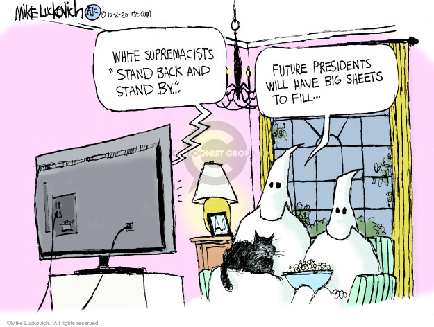 Mike Luckovich  Mike Luckovich's Editorial Cartoons 2020-10-02 white