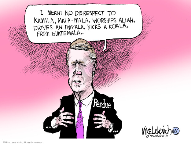 Mike Luckovich  Mike Luckovich's Editorial Cartoons 2020-10-20 republican politician