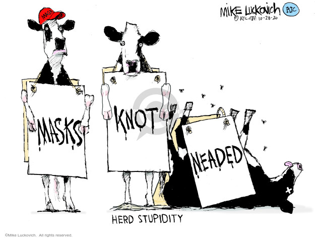 Mike Luckovich  Mike Luckovich's Editorial Cartoons 2020-10-28 medicine