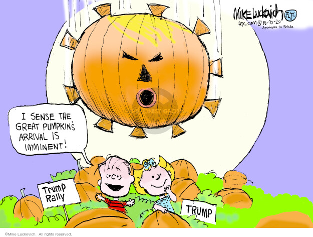 Mike Luckovich  Mike Luckovich's Editorial Cartoons 2020-10-30 medicine