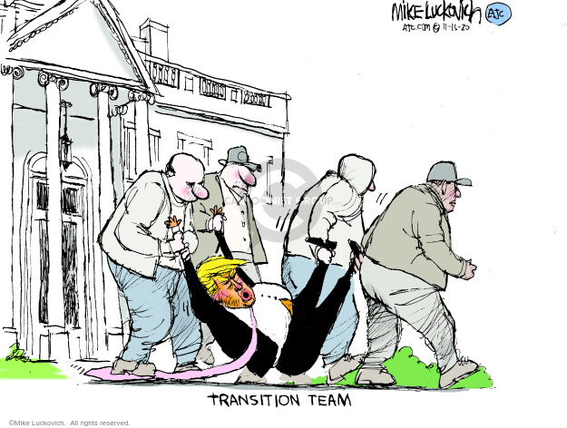 Mike Luckovich  Mike Luckovich's Editorial Cartoons 2020-11-15 presidential election