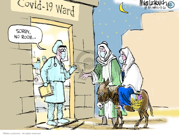 Mike Luckovich  Mike Luckovich's Editorial Cartoons 2020-12-13 medicine