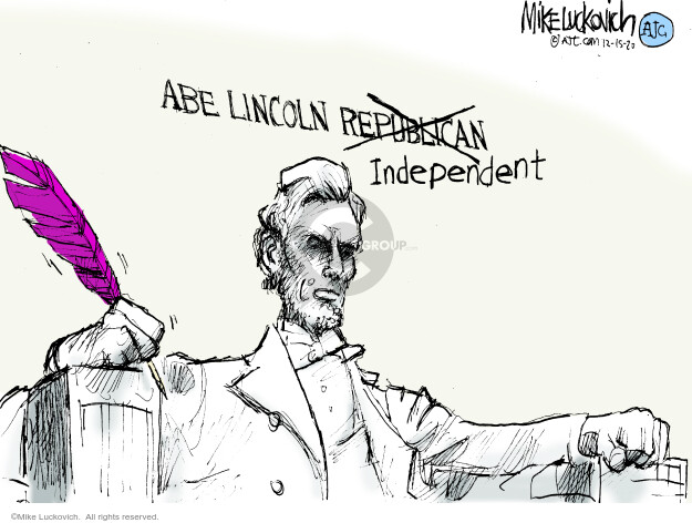 Mike Luckovich  Mike Luckovich's Editorial Cartoons 2020-12-15 republican politician