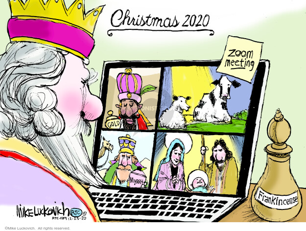 Mike Luckovich  Mike Luckovich's Editorial Cartoons 2020-12-25 editorial