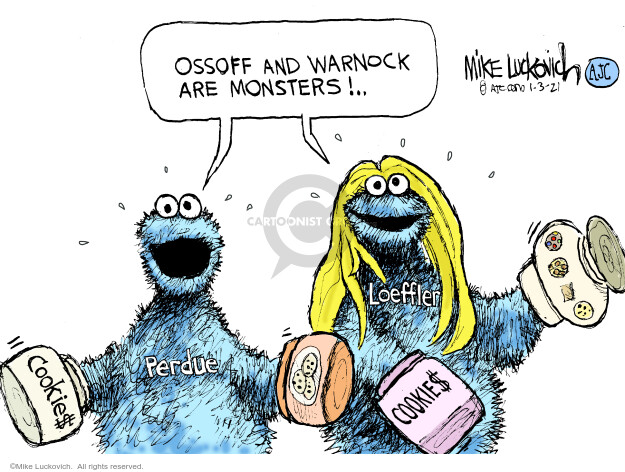 Mike Luckovich  Mike Luckovich's Editorial Cartoons 2021-01-03 GOP