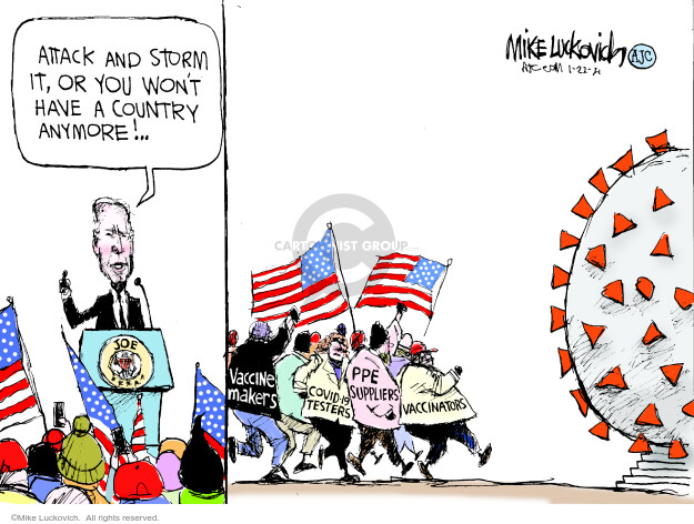 Mike Luckovich  Mike Luckovich's Editorial Cartoons 2021-01-22 president
