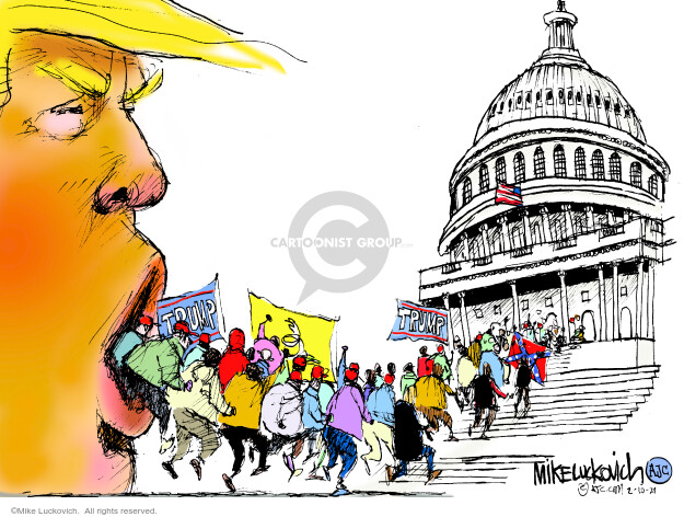 Mike Luckovich  Mike Luckovich's Editorial Cartoons 2021-02-10 president