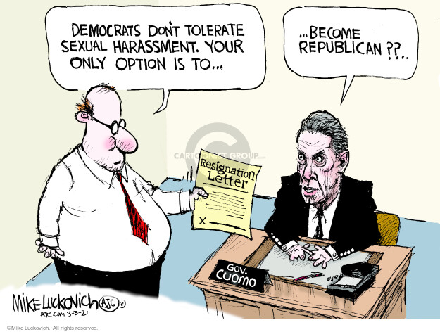 Mike Luckovich  Mike Luckovich's Editorial Cartoons 2021-03-03 republican